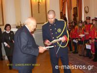 Η Φιλαρμονική του Δήμου Αμφιλοχίας τα «έψαλε» στον Πρόεδρο της Δημοκρατίας