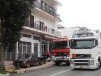 Κινητοποίηση για φωτιά σε διαμέρισμα στην Αμφιλοχία με εγκλωβισμό ατόμων