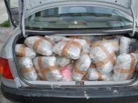 160 κιλά κάνναβης με κλεμμένο αυτοκίνητο