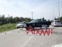 Τροχαίο ατύχημα με τραυματίες κοντά στο Ευηνοχώρι