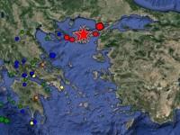 Σεισμική δόνηση σημειώθηκε στη θαλάσσια περιοχή, μεταξύ Λήμνου και Σαμοθράκης. Έγινε αισθητός σε όλη τη χώρα. Μικρές υλικές ζημιές.