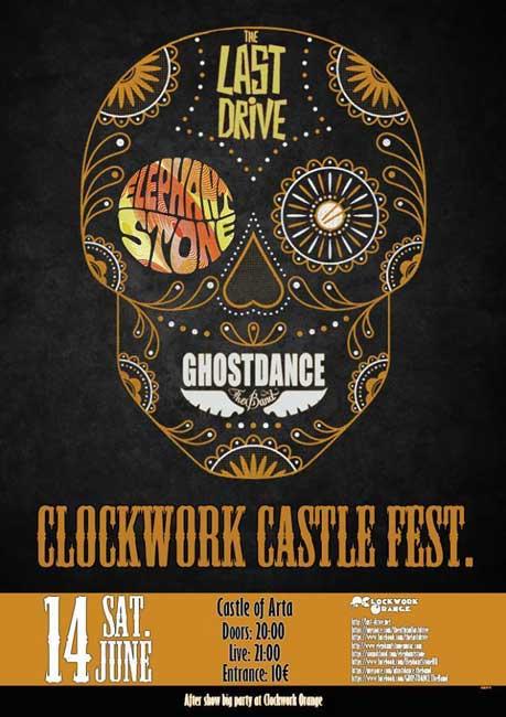 """CLOCKWORK CASTLE FEST"" – Μια εντυπωσιακή συναυλία στο κάστρο της Άρτας"