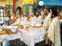 Εσπερινός και Λιτανεία για τον εορτασμό του Ι.Ν Αποστόλου Παύλου Μενιδίου