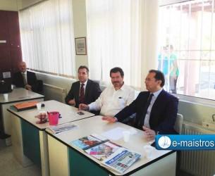 Δηλώσεις Υφυπουργού Παιδείας κ. Στύλιου κατά την επίσκεψή του σε σχολεία του δήμου Αμφιλοχίας