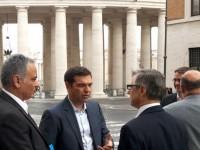 """Συνάντηση Τσίπρα-Πάπα. Ποντίφικας: """"Θέλουν να σώσουν τις τράπεζες, όχι τους ανθρώπους"""""""