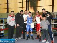 Επιτυχημένη η διοργάνωση του Πανελλήνιου Πρωταθλήματος Πυγμαχίας Νέων 2015 στην Αμφιλοχία