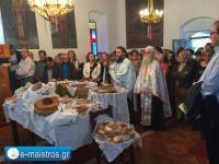 Εσπερινός με τα αρτοκλασίας στο Εξωκλήσι της Αγίας Τριάδος