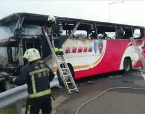Η απόλυτη φρίκη στην Ταϊβάν –  Κάηκαν ζωντανοί 26 επιβάτες λεωφορείου
