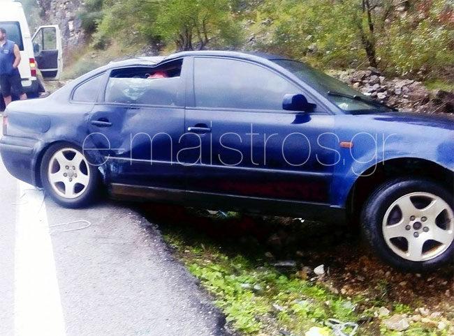 Τροχαίο ατύχημα με Αγρινιώτη στο σημείο που έχασε τη ζωή της η 29χρονη
