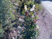 Το χριστουγεννιάτικο σκουπιδόδεντρο στην Αιτωλοακαρνανία