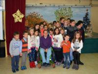 Η Παραολυμπιονίκης Δήμητρα Κοροκίδα στο Δημοτικό Σχολείο Θυάμου