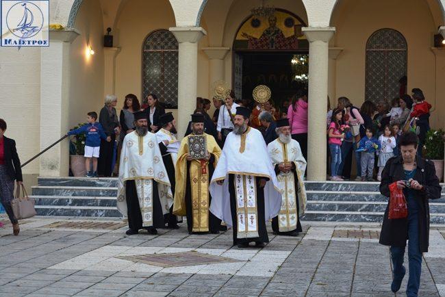 Μέγας Πανηγυρικός Εσπερινός στον πολιούχο Λουτρού Άγιο Νικόλαο