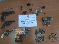 Συνελήφθη 57χρονος με ολόκληρο οπλοστάσιο στην Αμφιλοχία