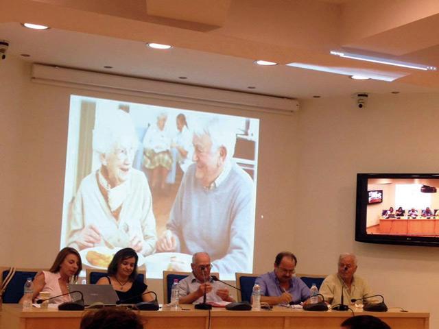 Εκδήλωση των Συνταξιούχων ΟΑΕΕ Αμφιλοχίας