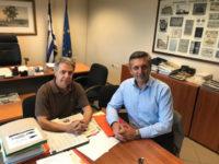 Συναντήσεις Δημάρχου  για αγροτικά θέματα και έργα υποδομών