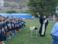Με τις ευλογίες του π. Οδυσσέα ξεκίνησε και επίσημα ο Νέος Αμφίλοχος