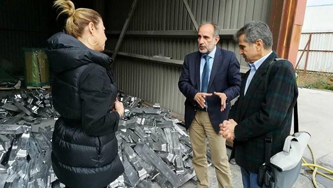 Επίσκεψη  Απ. Κατσιφάρα σε μονάδες της ΒΙΠΕ Πάτρας