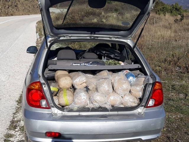 Εντοπίστηκε σταθμευμένο  Ι.Χ.Ε. αυτοκίνητο  έμφορτο με ναρκωτικά