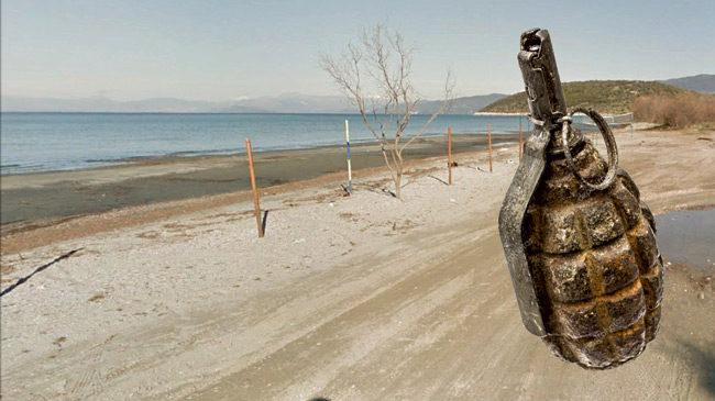 Εξουδετερώθηκε στην Μπούκα η χειροβομβίδα που βρέθηκε στην Αμφιλοχία
