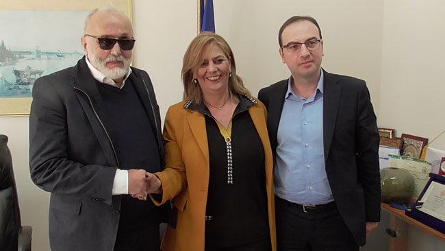 Την υποψηφιότητά του στην Ευρωβουλή ανακοίνωσε από την Άρτα ο Π. Κουρουμπλής