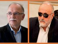 Οι υποψήφιοι ευρωβουλευτές Δ. Παπαδημούλης και Π. Κουρουμπλής στην Αμφιλοχία