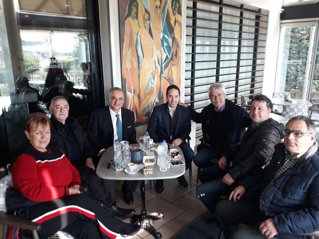 Περιοδεία στο νομό Αιτωλοακαρνανίας του υποψήφιου ευρωβουλευτή Λευτέρη Βαρουξή