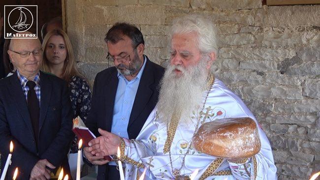 Πανηγυρική Θεία Λειτουργία μετ΄ αρτοκλασίας  στο ξωκλήσι του Άη Γιώργη στο Φαλαγγιά
