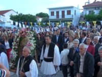 Μέγας Πανηγυρικός Εσπερινός και λιτάνευση της ιερής εικόνας στον πολιούχο Λουτρού Άγιο Νικόλαο