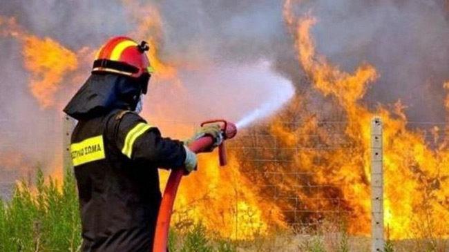 Yψηλός ο κίνδυνος πυρκαγιάς την Τρίτη 13 Αυγούστου 2019 σε όλη τη Δυτική Ελλάδα