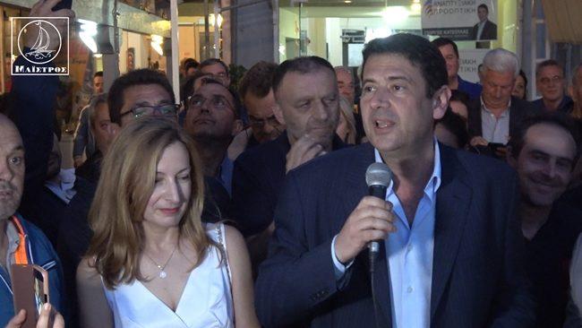 Θριαμβευτική νίκη Γιώργου Κατσούλα στο δήμο Αμφιλοχίας