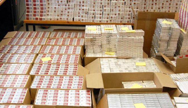 Συνελήφθησαν διακινητές λαθραίων τσιγάρων – Κατασχέθηκαν πάνω από 11.000 πακέτα