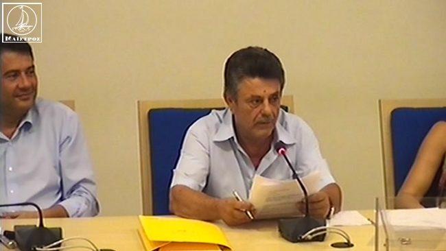 Ο Γεώργιος Ροΐδης ο νέος πρόεδρος Δημοτικού Συμβουλίου του Δήμου Αμφιλοχίας