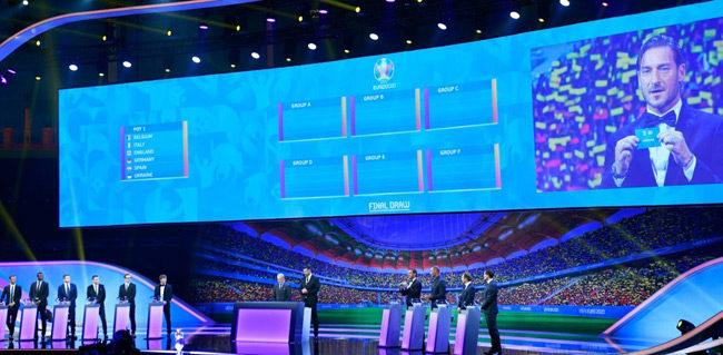 Αυτοί είναι οι όμιλοι του Euro 2020: «Γκρουπ θανάτου» με Πορτογαλία, Γαλλία, Γερμανία