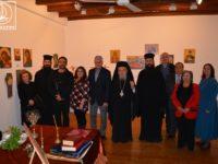 """Εγκαινιάστηκε η έκθεση Αγιογραφίας και Ζωγραφικής στην πινακοθήκη """"Μάργαρη"""" στην Αμφιλοχία"""