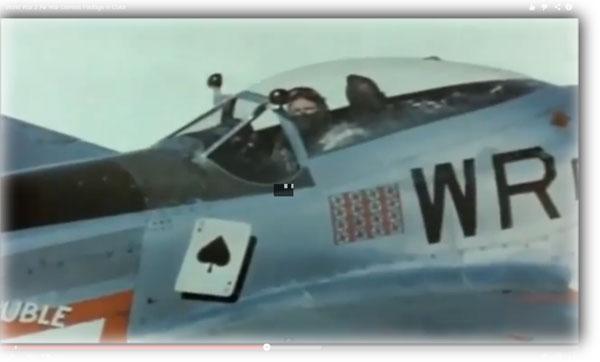 Αερομαχίες του  Δεύτερου Παγκοσμίου πολέμου σε έγχρωμο φιλμ