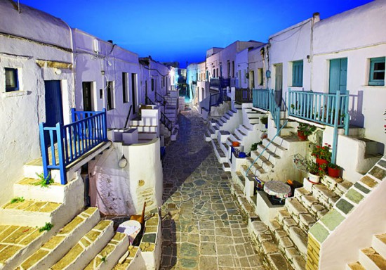 Η Χώρα της Φολεγάνδρου 4ο ωραιότερο χωριό στην Ευρώπη