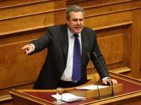 Καμμένος: Καλώ σε στάση τους Έλληνες, με βάση το άρθρο 120