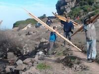 """""""Δώρο"""" από τη θάλασσα στη Λέσβο. Ξεβράστηκε ξυλεία αξίας 600.000€"""