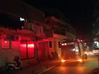 Φωτιά σε οικία στο κέντρο της Αμφιλοχίας