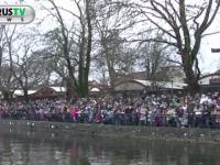 Με λαμπρότητα και πλήθος κόσμου γιορτάστηκαν τα Θεοφάνεια στη λίμνη Παμβώτιδα στα Γιάννενα