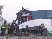 Ευθύνες στον οδηγό του λεωφορείου για τροχαίο σύμφωνα με  μαρτυρίες των επιβατών.