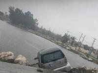 Αυτοκίνητο σταμάτησε στα Βράχια