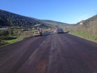 Εργασίες συντήρησης  στην  ΕΟ Αμφιλοχίας – Αντιρρίου – ανακούφιση για τους οδηγούς