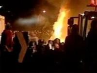 Οργή λαού στη Μαλακάσα: Κάτοικοι έβαλαν φωτιά στα διόδια