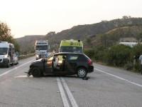 Τροχαίο ατύχημα με τραυματισμούς στη Βόνιτσα