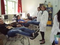 Πρωτοβουλίες προς μίμηση από το  ΕΠΑΛ Αμφιλοχίας – Με απόλυτη επιτυχία η εθελοντική αιμοδοσία