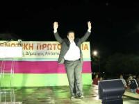 Η κεντρική προεκλογική ομιλία του δημάρχου  Απ. Κοιμήση στην Αμφιλοχία