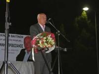 Κεντρική ομιλία του Γιάννη Πρεβαζιάνου στην Αμφιλοχία