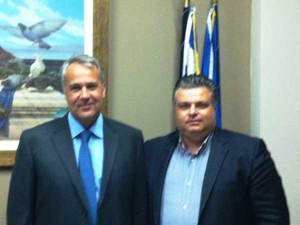 Με τον Υπουργό Υγείας συναντήθηκε ο Νίκος Καραπάνος για το νοσοκομείο Μεσολογγίου