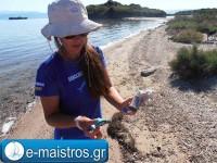 Καθαρίζοντας τον Αμβρακικό παρέα με τους  seacleaners